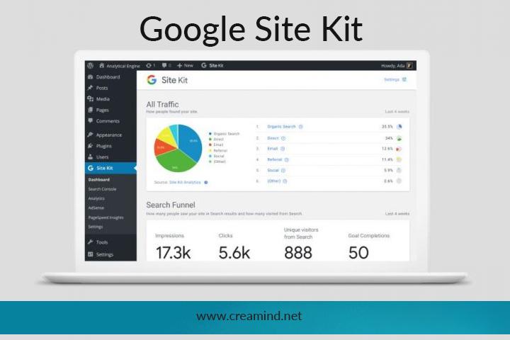 Wordpress Kullananlar için Google'dan Site Kit eklentisi